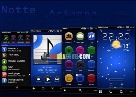 themes hd for nokia n8 notte theme for nokia n8 belle smartphones signed