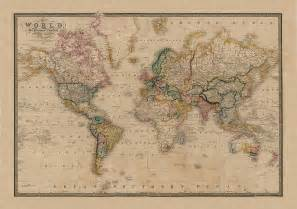 Vintage World Maps by Gallery For Gt Vintage Style World Maps