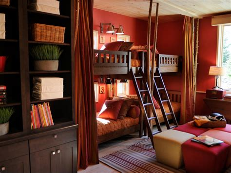 dorm bunk beds hgtv dream home 2011 ski dorm pictures and video from