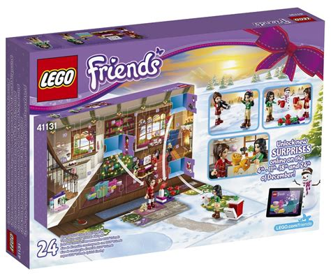 Calendrier De L Avent Lego 2017 Heartlake Times Lego Friends Advent Calendar 2016