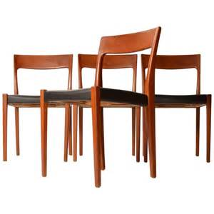 Made Dining Chairs Set Of Four Svegards Markaryd Made Dining Chairs At 1stdibs