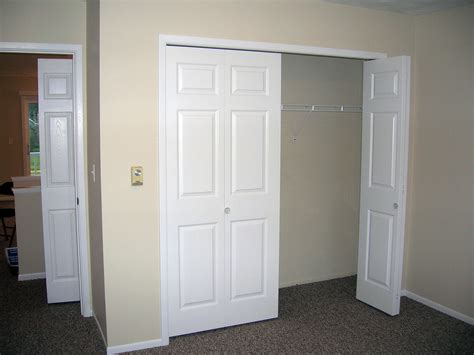 Small Closet Door Ideas Creative Bifold Closet Door Hardware Roselawnlutheran