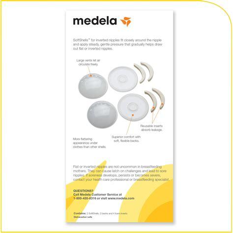 Medela Breast Shells medela softshells breast shell soothers inverted