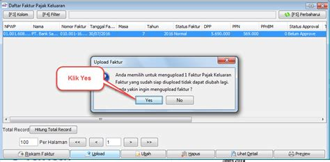 tutorial upload e faktur cara upload faktur pajak