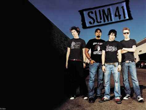 Best Band Sum 41 1440x900 Rock Band Wallpapers Canadian Melodic Rocks Sum 41