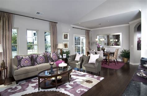 Purple Accents In Living Room by Purple Accents In Living And Dining Room Sold Out