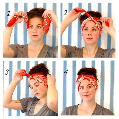 different ways to wear a bandana with short hair 10 ways to tie a turban headscarf youth village