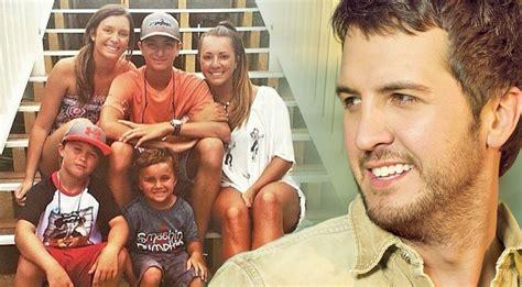 luke bryan kids luke bryan s children react to their new blended family