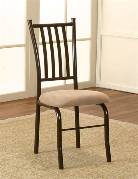 cramco inc jacey java cappucino microsuede side chair