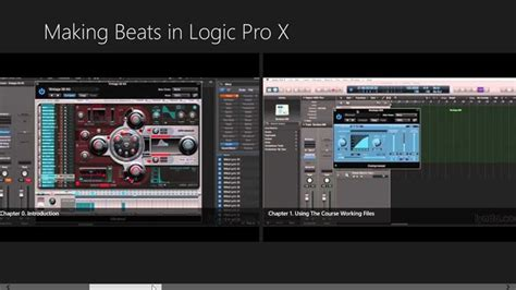 online tutorial logic pro making beats in logic pro x tutorial for windows 8 and 8 1