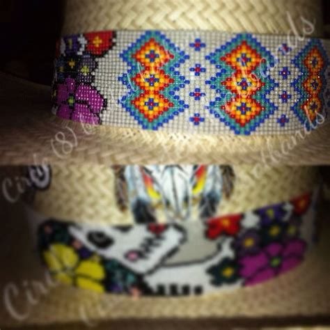 circle 8 beaded hat bands 1000 images about circle 8 beaded hatbands on