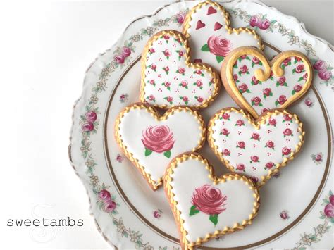 how to make valentines cookies how to decorate cookies for s day sweetambs