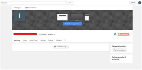 cara membuat channel youtube lewat hp cara membuat channel youtube luar negeri target negara