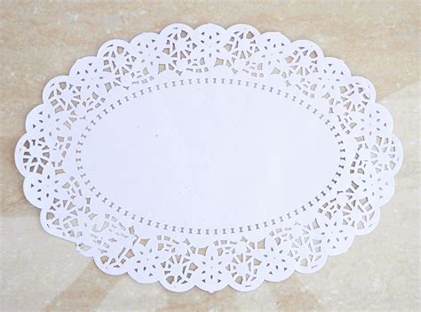 Ovale Paper 100pcs oval paper doilies promotion shop for promotional oval