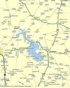 map of lake livingston lake livingston recreational home page for real