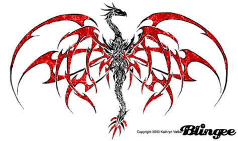 dragon tribal picture 79631406 blingee com