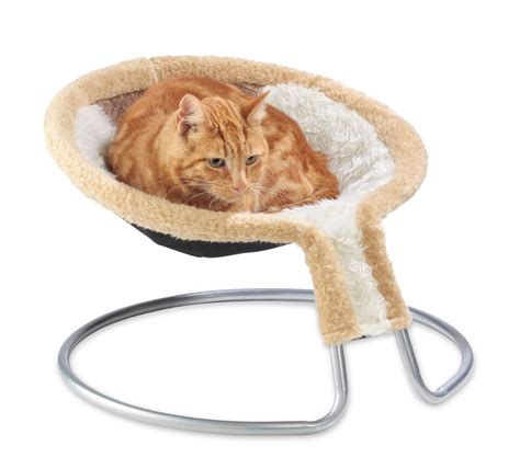 Cat Chair by Deluxe Cat Napper Chair Bed With Brown Insert