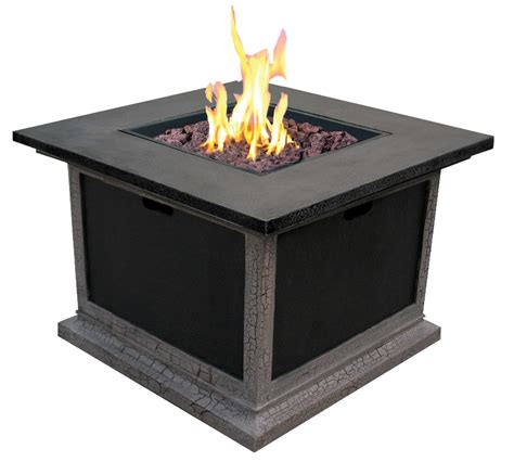 Outdoor Fireplace Table by 34 5 Ravenswood Large Outdoor Gas Table