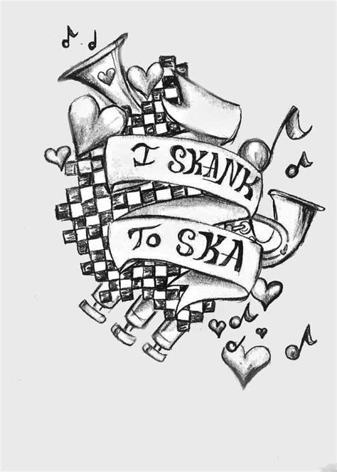 ska tattoo designs i skank to ska by allisoneve on deviantart