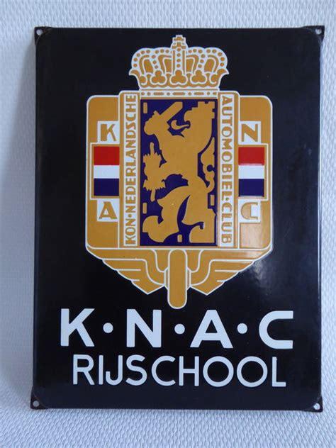 Expedition E 6638 Original knac original enamel sign for a driving school 38 x 29