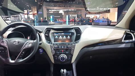 Santa Fe Sport Interior by 2017 Hyundai Santa Fe Sport Interior 2017 Chicago Auto