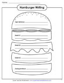 fillable online hamburger writing organizer super