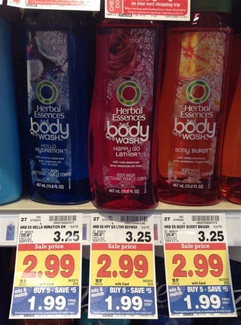 herbal essences wash only 0 99 at shoprite living herbal essences wash only 1 24 at kroger reg 3 25