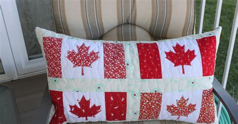 U Pillow Canada by Daydreams Of Quilts Canadian Flag Pillow Or Table Runner
