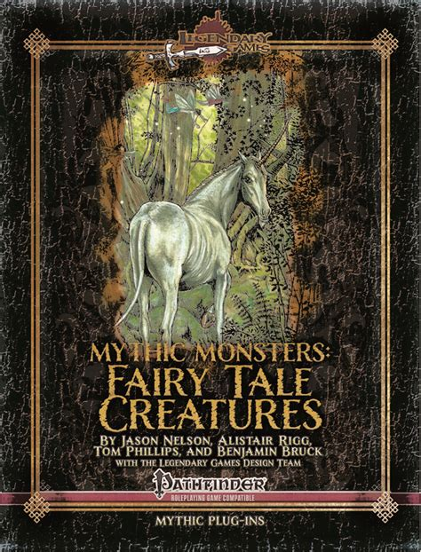 Mythic Monsters Fey Volume 48 mythic monsters 12 tale creatures legendary