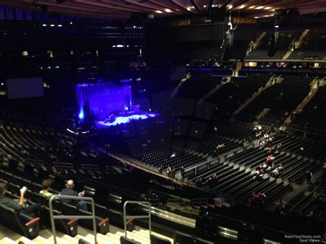 msg section 226 200 level corner madison square garden concert seating