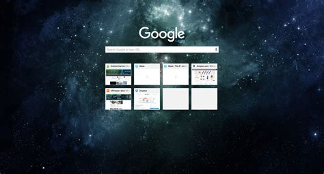 universe theme for google chrome best browser themes for chromebooks android central