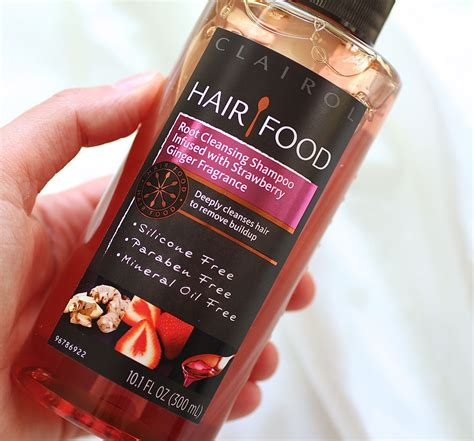 Hair Follicle Detox Shoo Sold In Stores by Hair Food Root Cleansing Shoo Infused With Strawberry