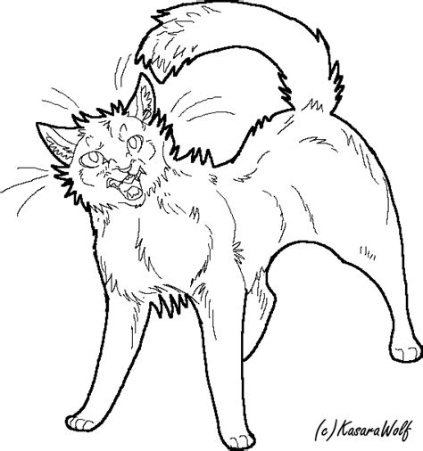 cat drawing template angry cat template by kasarawolf on deviantart
