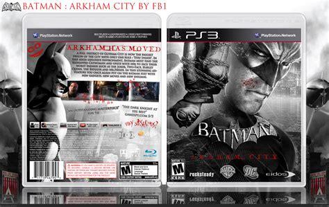 Bd Ps4 Batman Arkham Goty Edition Reg 2 batman arkham city playstation 3 box cover by frenchboy1