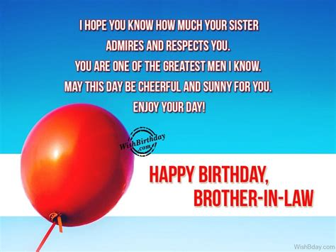 in law 54 birthday wishes for brother in law