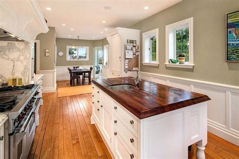 wainscoting kitchen kitchen affordable kitchen cottage for