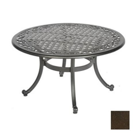 shop meadow decor kingston aluminum patio coffee