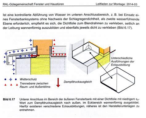 Fenster Mauerwerk Abdichten by Abdichtung Au 223 Enfensterbank Nur Bis Ak Mauerwerk Mangel