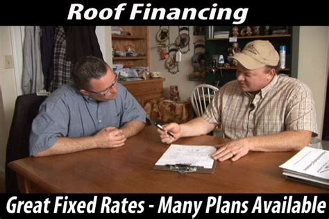 roof financing maine david deschaine roofing financing