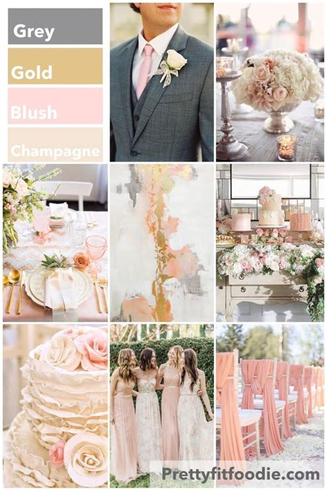 5 Wedding Themes by Light Pink And Grey Wedding Theme Www Pixshark