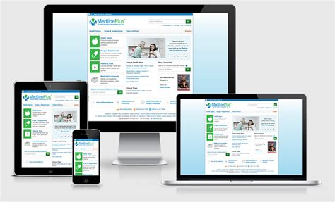html layout recommendations for mobile devices medlineplus 174 everywhere access from your phone tablet or