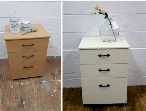 chalk paint veneer veneer particle board filing cabinet with chalk paint by