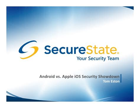 Android Versus Ios Security by The Android Vs Apple Ios Security Showdown