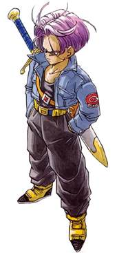 trunks dragon ball character androids future version character profile writeups org