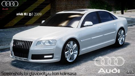 Audi S8 D3 by Audi S8 D3 2009 For Gta 4