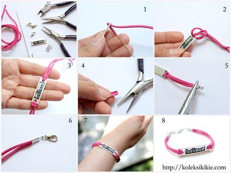 belajar membuat gelang dari tali sepatu cara membuat gelang handmade dari tali sepatu cara membuat