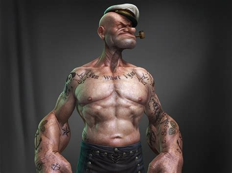 tattoo 3d popeye 3 popeye hd wallpapers backgrounds wallpaper abyss