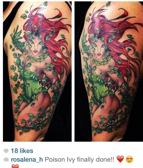poison ivy tattoo 1000 images about my style on