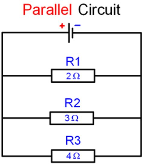 gcse physics electricity what is the resistance of a parallel circuit how can the total