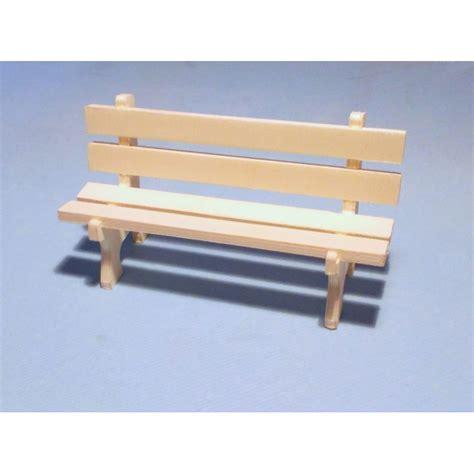 banc miniature en boisen kit 224 peindre et 224 d 233 corer
